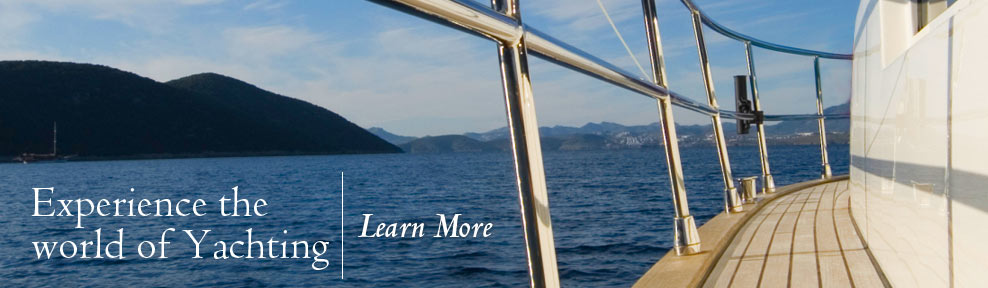 Experience the world of Yachting